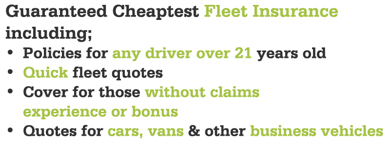 Cheapest Fleet Insurance